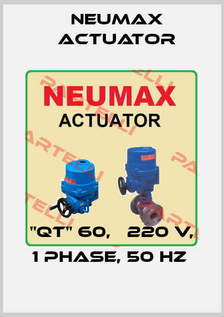 "Neumax Actuator-""QT"" 60,   220 V, 1 PHASE, 50 HZ  price"