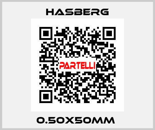 Hasberg-0.50X50MM  price